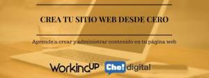 Curso Crea tu sitio web desde cero Ecuador