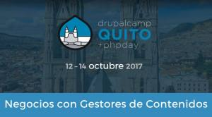 DrupalCamp Quito Franco Giardina