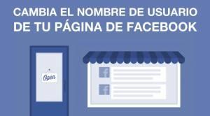 Cambiar Nombre de Usuario Página de Facebook