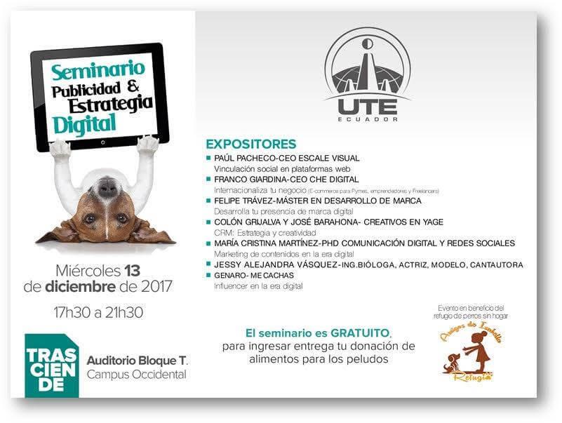UTE. Seminario Publicidad y Estrategia Digital.