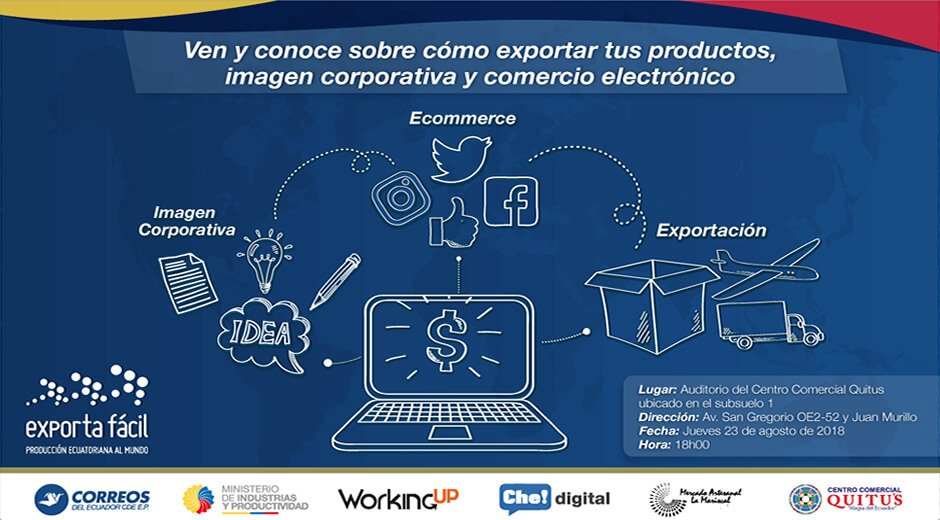 Charla de eCommerce para el programa Exporta Fácil