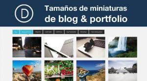 """Divi: solución tamaño miniaturas de blog y portfolio"""" está bloqueado Divi: solución tamaño miniaturas de blog y portfolio."""