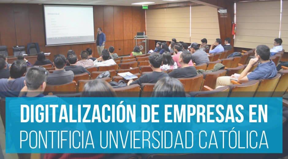 Digitalización de Empresas y Proyectos en la PUCE
