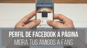 Migrar perfil de Facebook a página - Franco Giardina