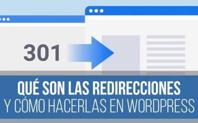 Cómo redireccionar una URL en WordPress