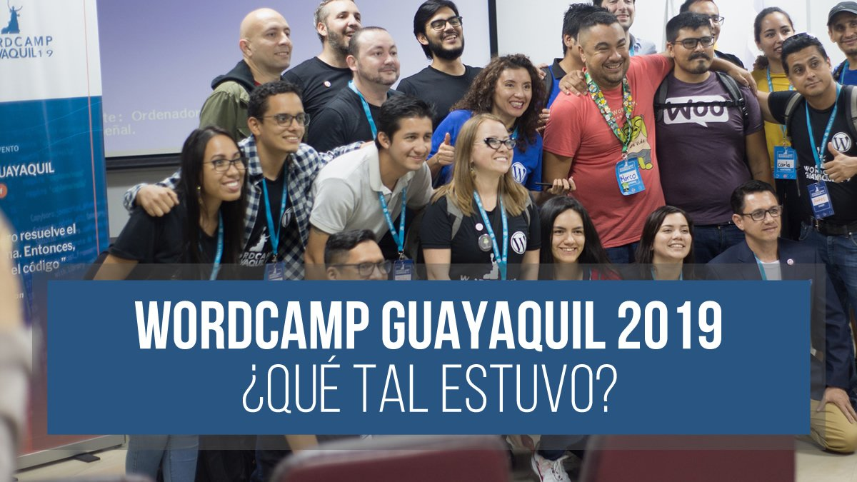 WordCamp Guayaquil 2019